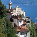 Kirchturm in der Schweiz
