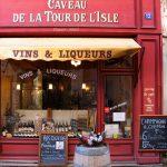 Weinladen in Frankreich