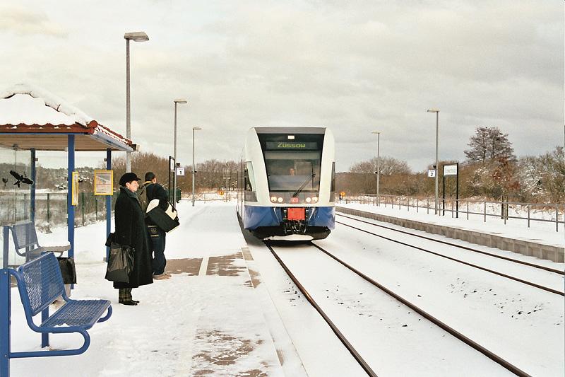 UBB im Schnee