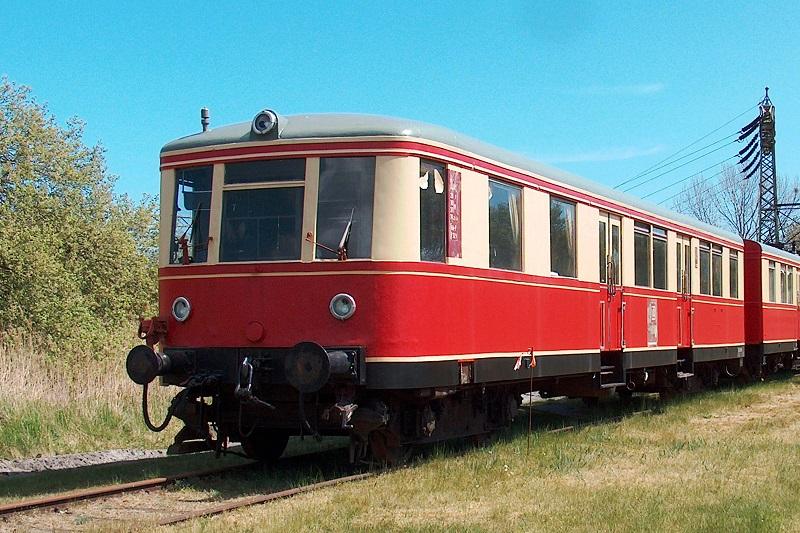 Alte Werkbahn im Museum Peenemünde