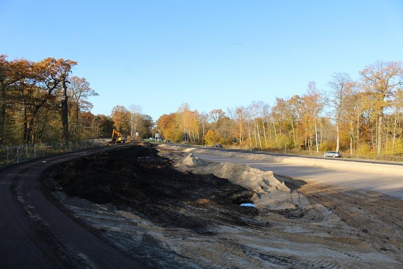 Baustelle Kreuzungsbahnhof Schmollensee