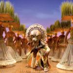 Bühnenbild von Musical Der König der Löwen