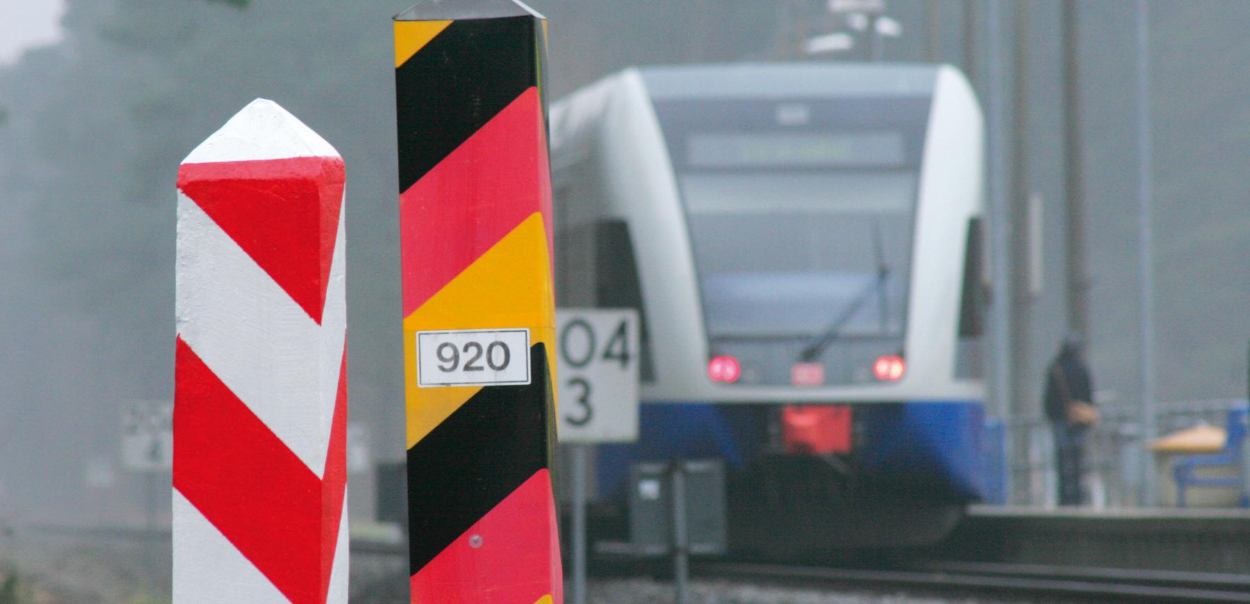 Grenzübergreifender Bahnverkehr UBB