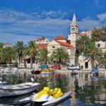 Im Hafen von Kroatien