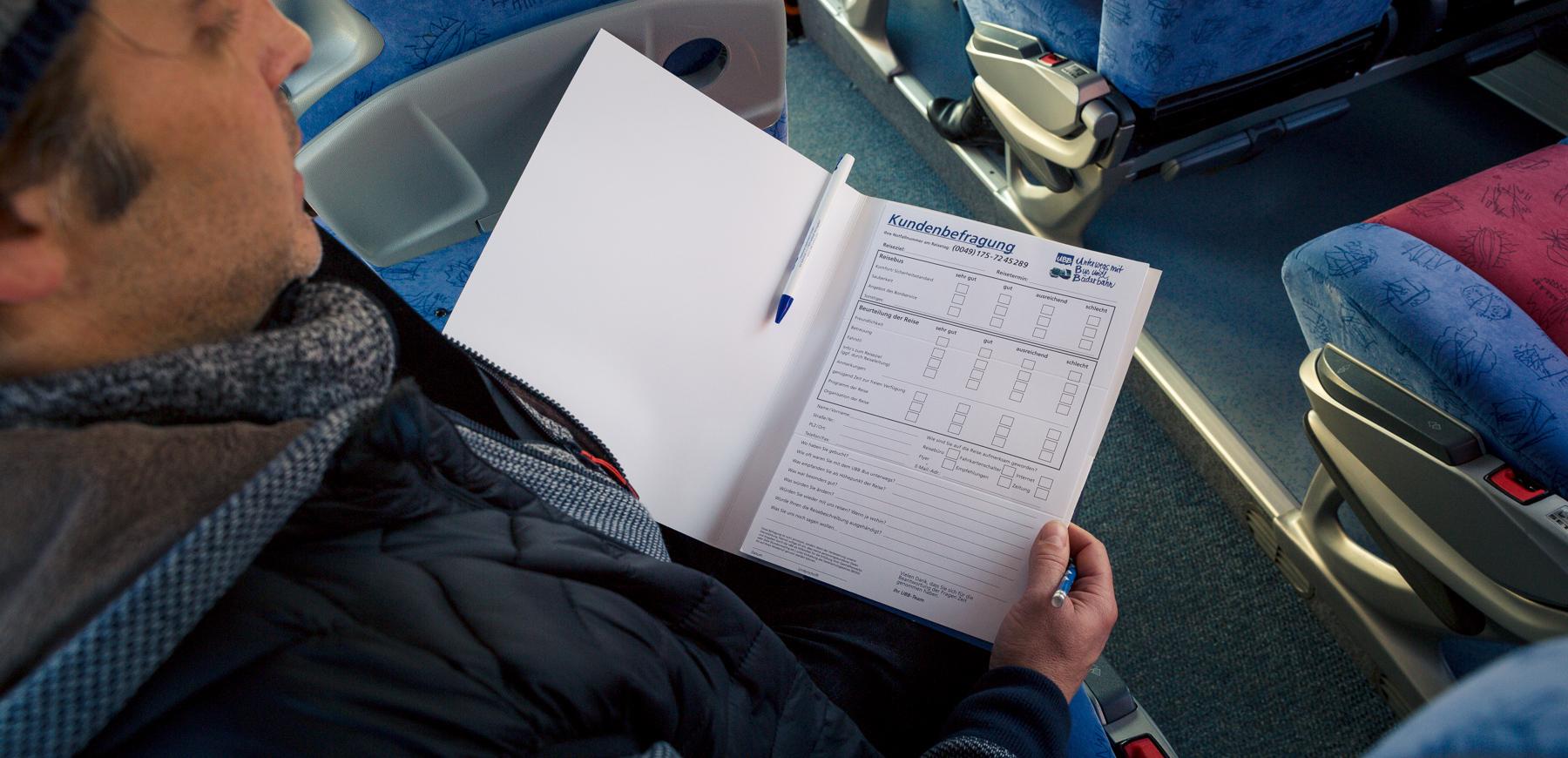 Kundenbefragungsbogen UBB