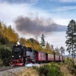 Dampflok unterwegs im Harz.