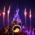 Feuerwerk Schloss Disneyland