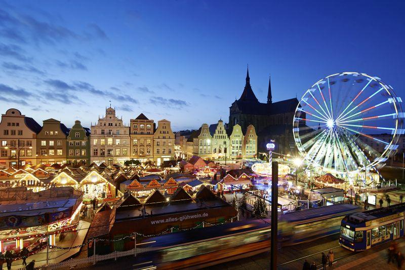 Weihnachten auf dem Rostocker Weihnachtsmarkt