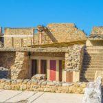 Ruine Palace Knossos