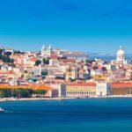 Übersicht von Lissabon imer Sommer.