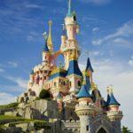 berühmte Schloss von Disney