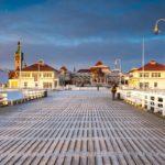 Winterliche Seebrücke Sopot in Danzig
