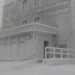 Brockenherberge im Winter