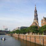 Hamburg mit Blick auf die Elbphilharmonie. ©UBB-Archiv