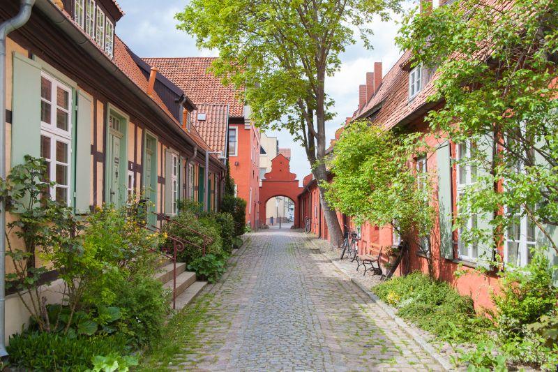 Stralsund altes Klostergelände