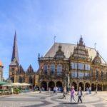 Bremen, Marktplatz, Rathaus, Dom, Liebfrauenkirche, Panorama
