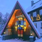 im Weihnachtsdorf Seiffen im Erzgebirge