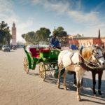 Marktstraße-Marokko