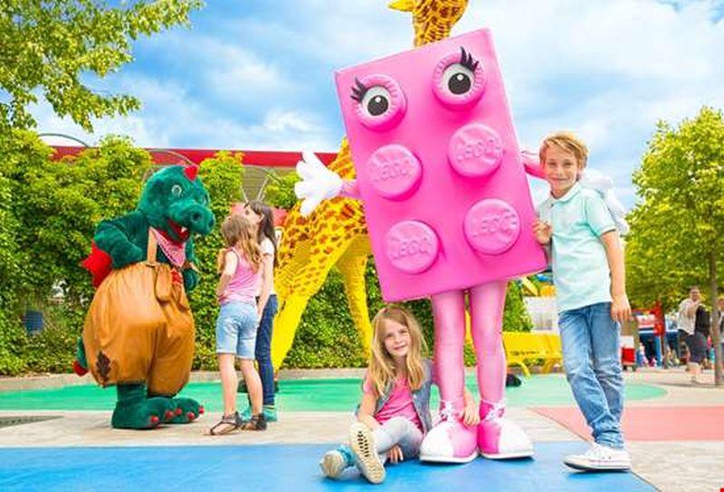 Pink Brick im Legoland
