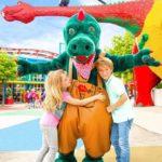parkmaskottchen olli der drache