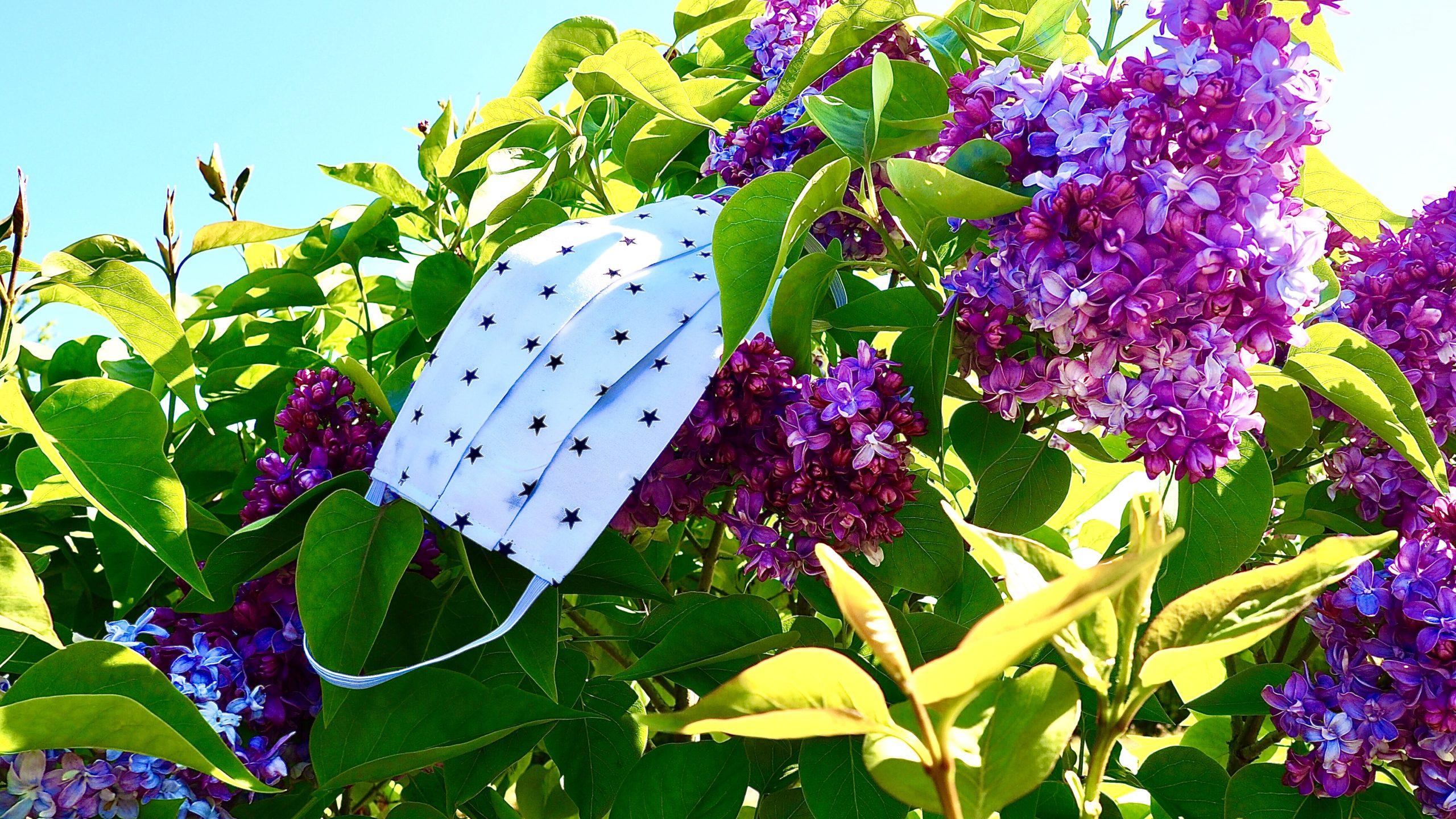 Frühling auf Usedom mit Mundschutz