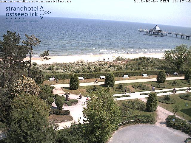Webcam Blick auf die Ostsee