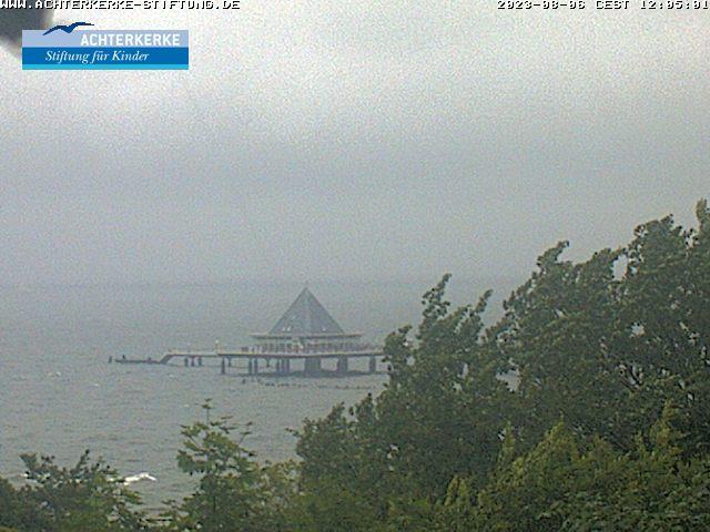 Webcam Blick auf die Seebrücke Heringsdorf
