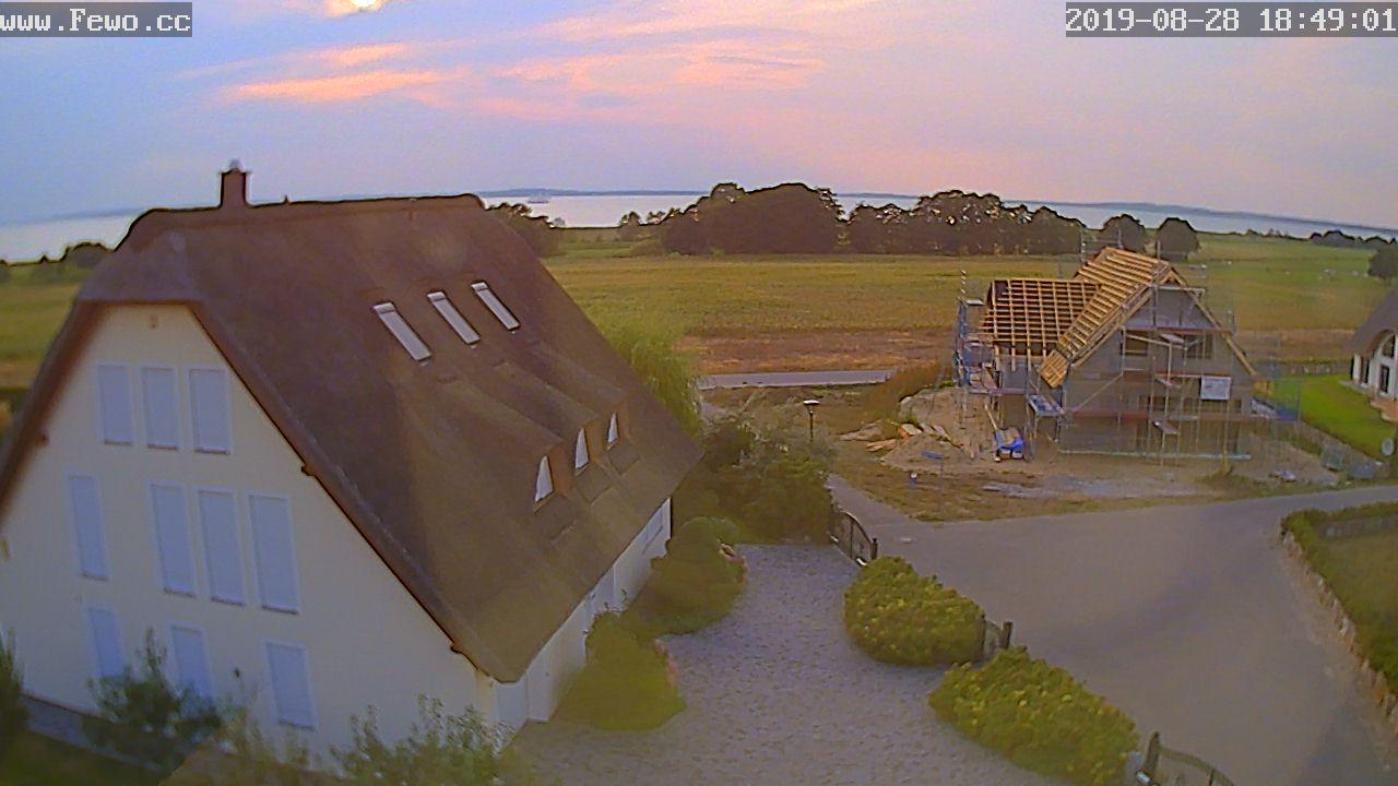 Webcam Blick auf den Ferienhaus Herrmann in Loddin