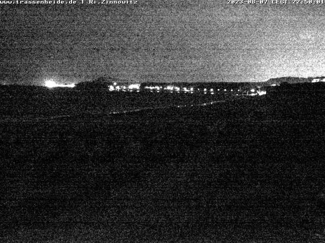 Webcam Blick auf den Strand von Trassenheide